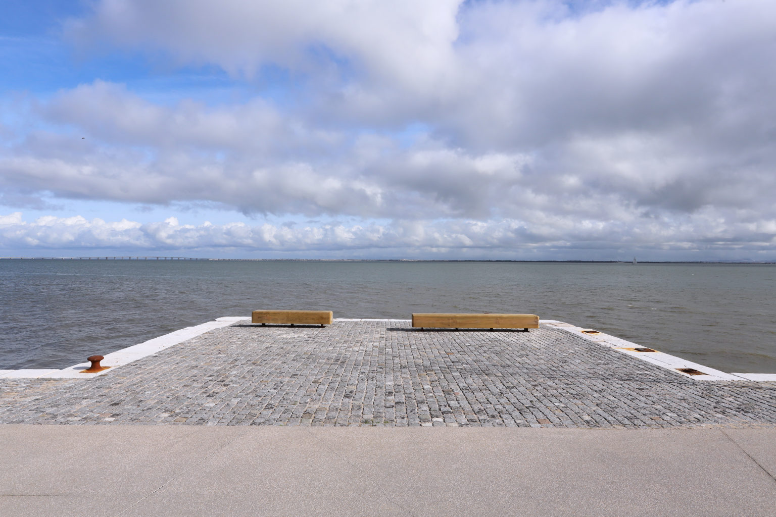 Inauguração do Parque Ribeirinho Oriente.