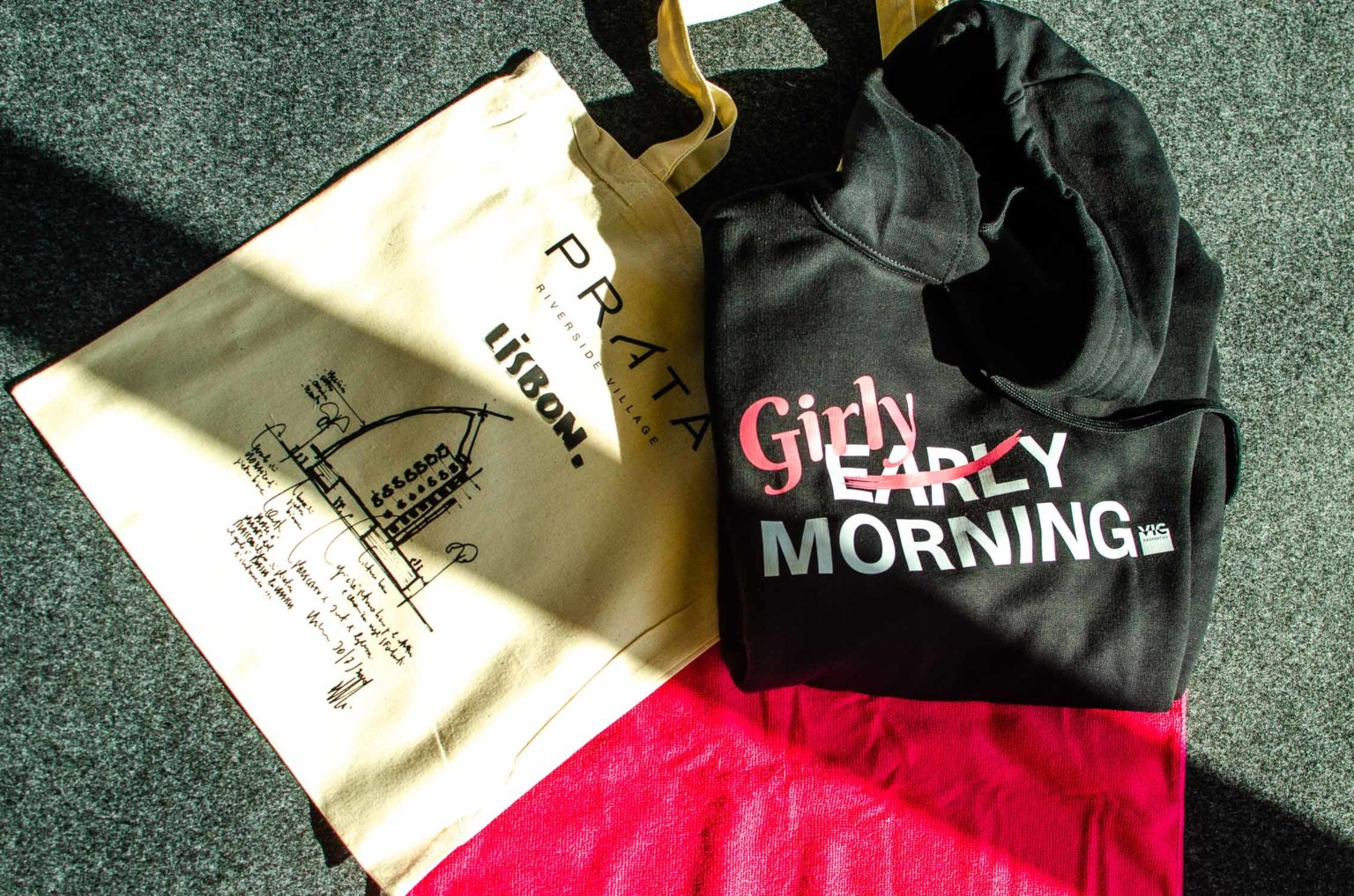 Girls Early Morning.